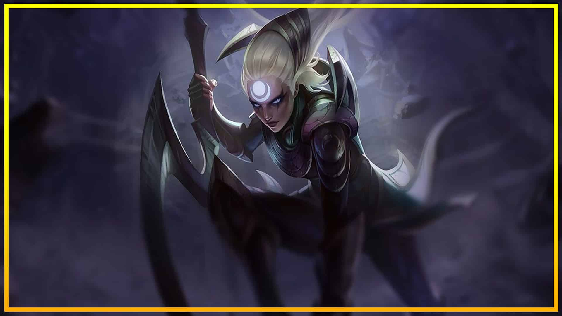 Progreso En La Actualización De Diana En League Of Legends
