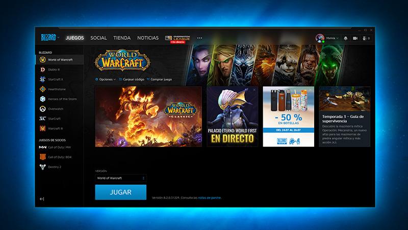 descargar wow battle.net
