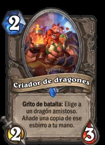 nueva carta descenso de los dragones