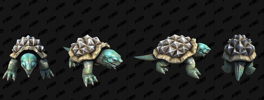 modelo tortuga mar wc3