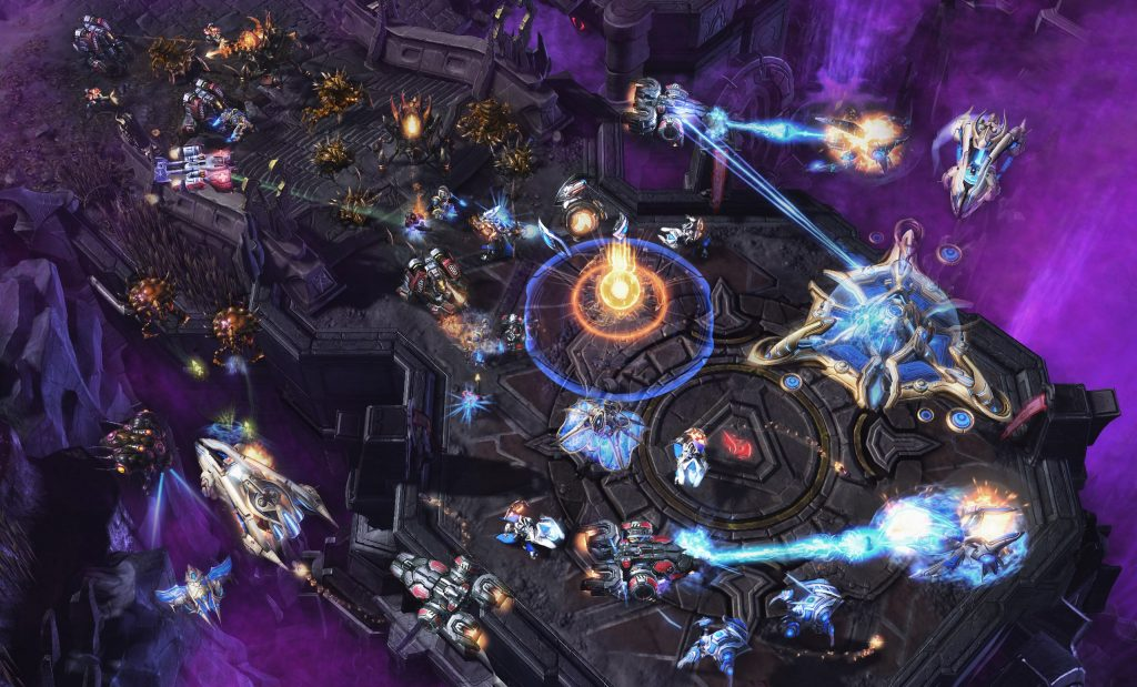 Actualización Comandantes Cooperativos StarCraft II