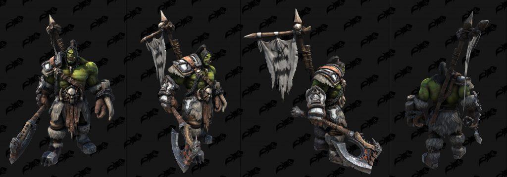 thrall grom hellscream modelos WarCraft