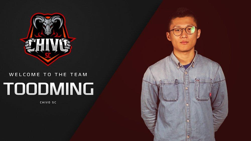 TooDming ingresa al equipo de StarCraft II de Chivo SC