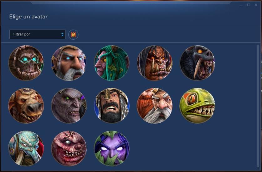 Avatares de WarCraft III
