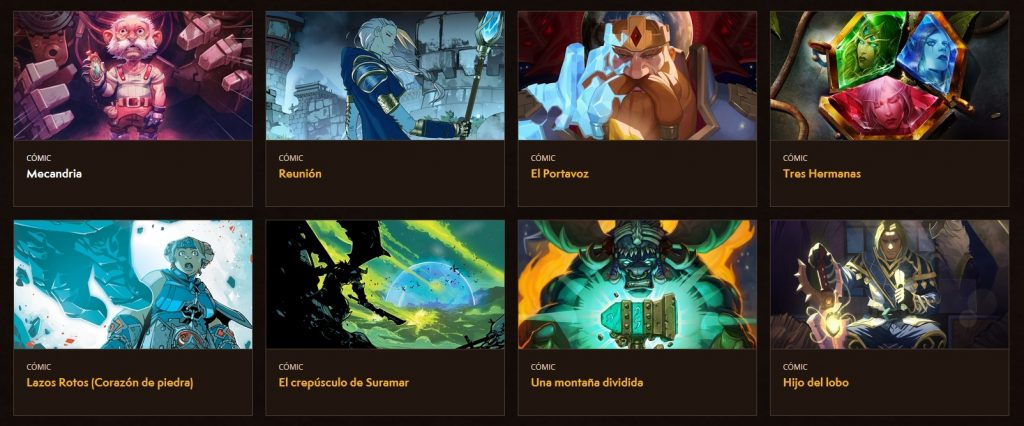 cómics gratuitos World of Warcraft