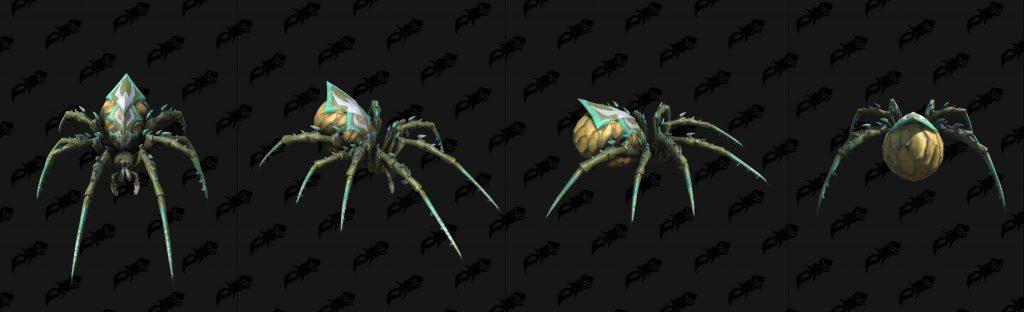 modelos arañas warcraft 3