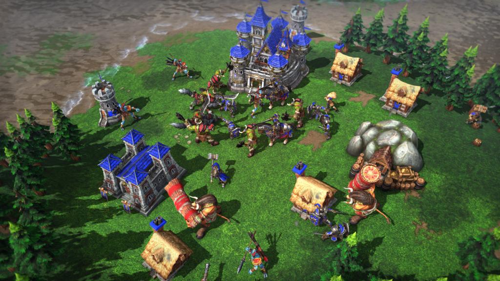 Decepción Warcraft III Reforged