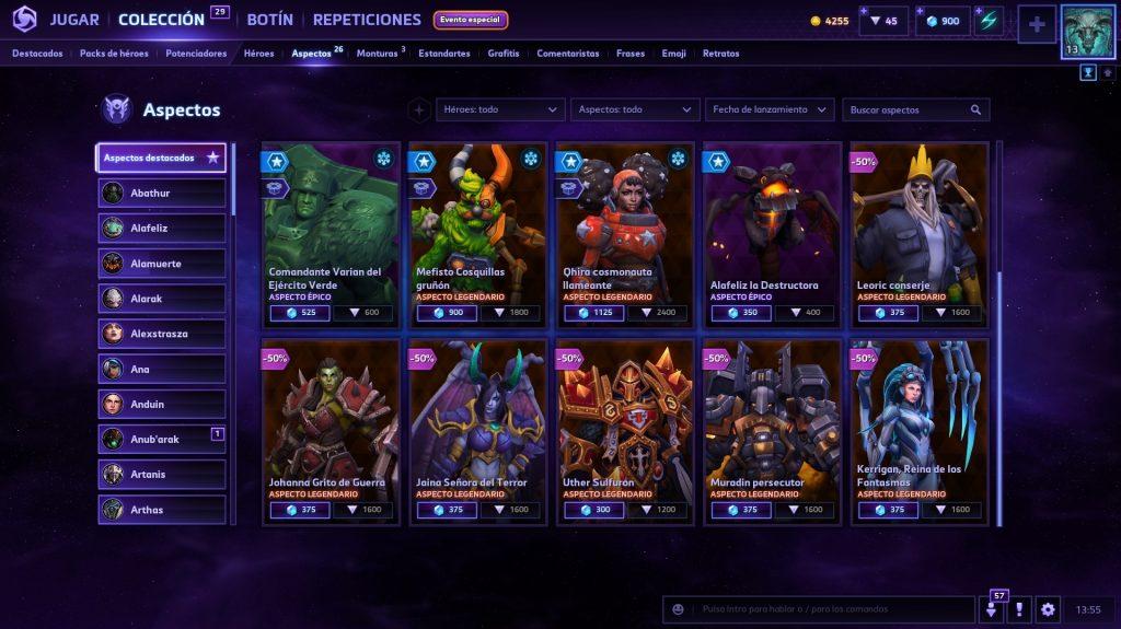 nuevos heroes en oferta