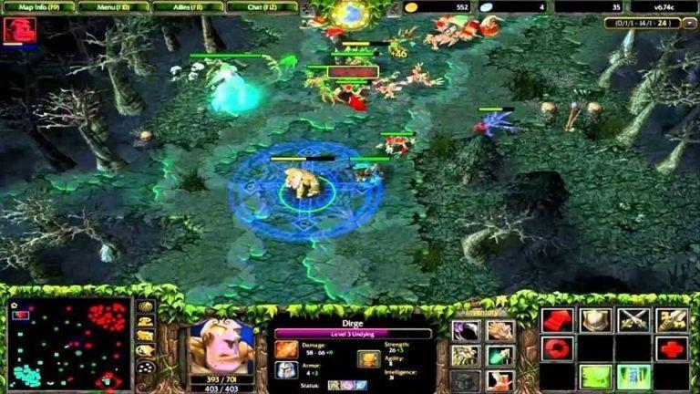 editor de Warcraft III: Reforged