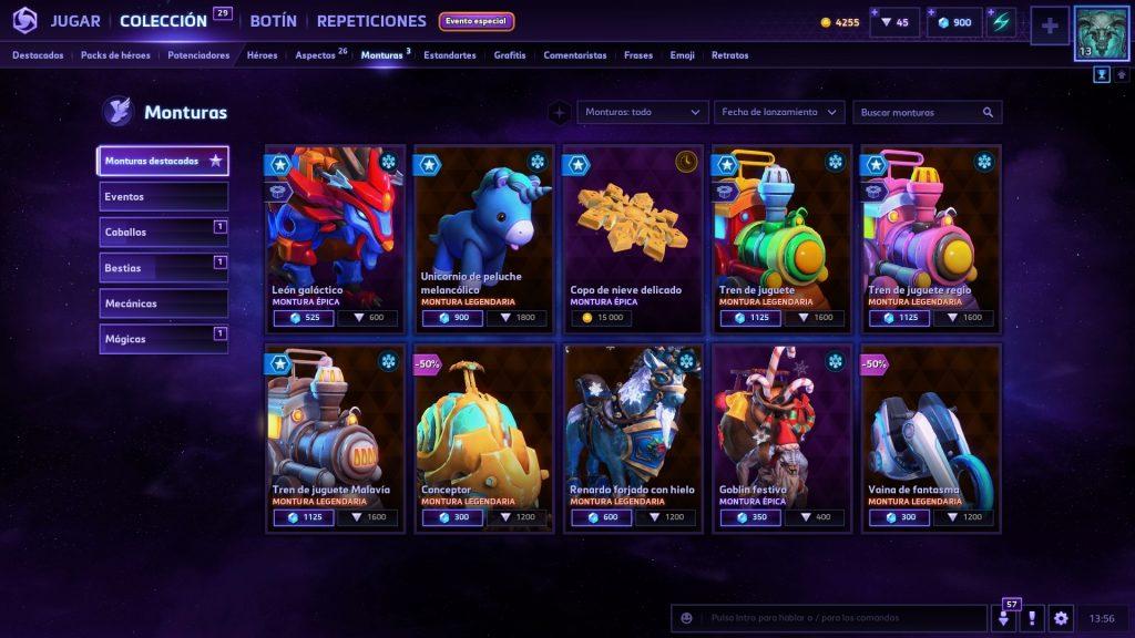 nueve heroes en oferta