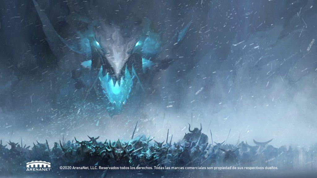tráiler sombra hielo Guild Wars 2