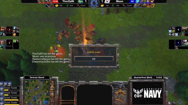 desconexión torneo warcraft reforged
