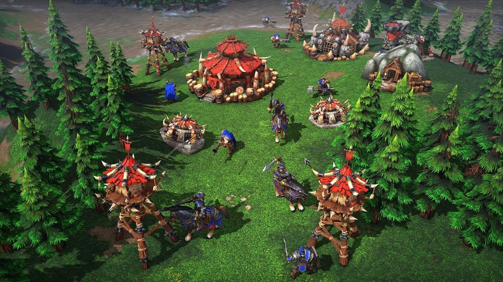 Reembolso de WarCraft III: Reforged