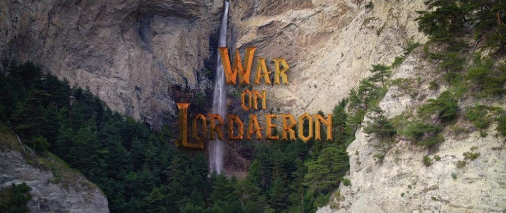 cortometraje inspirado en el universo Warcraft