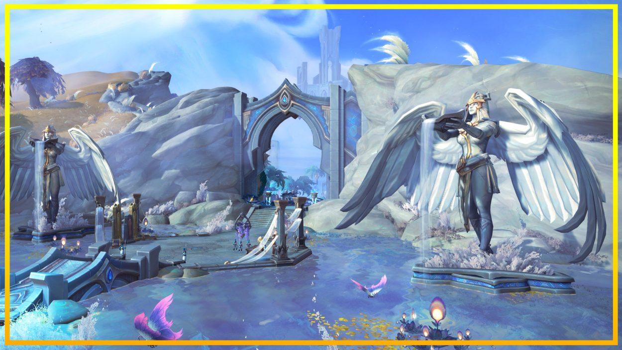 Shadowlands Bastion Kyrianos información