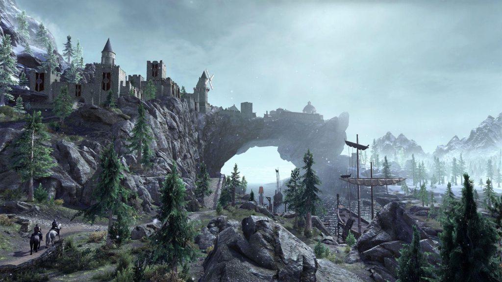 Skyrim Greymoor Límite Sombrío