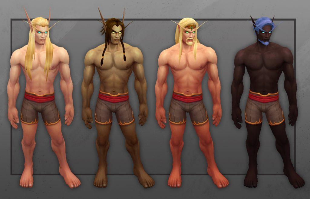 personalización elfos Shadowlands