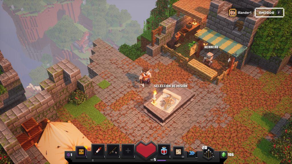 Qué es Minecraft Dungeons