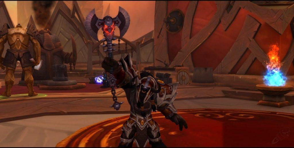 Shadowlands Guerrero habilidades de curia