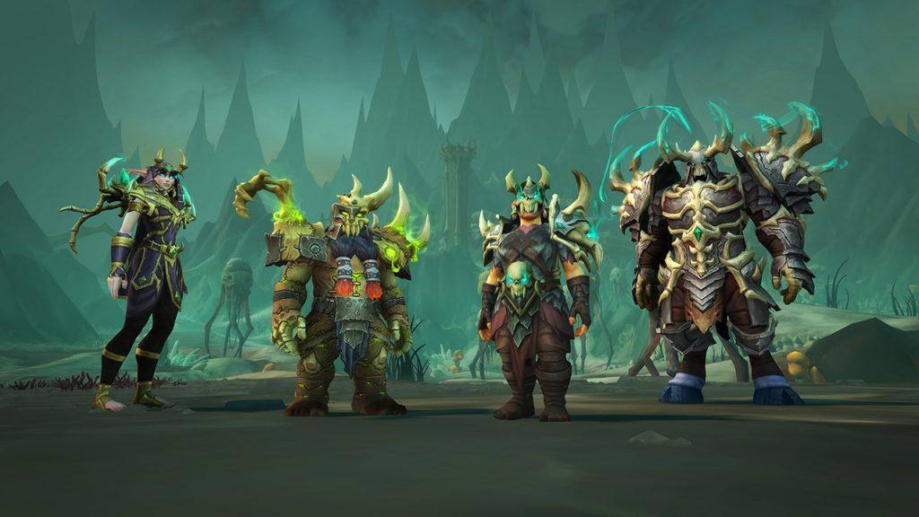 Sets de armadura Maldraxxus de los Necroseñores