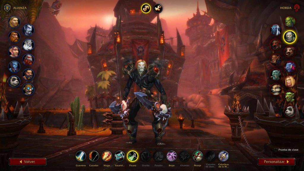 Armadura nueva Shadowlands Pícaro