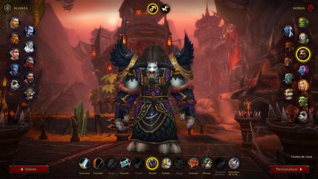 Armadura nueva Shadowlands Druida