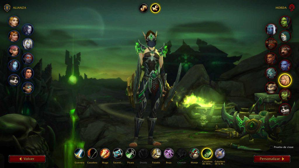 Armadura nueva Shadowlands Cazador de Demonios