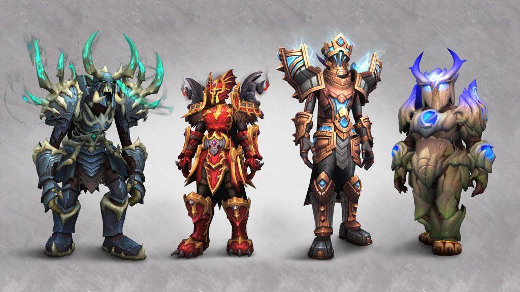 sets de armadura
