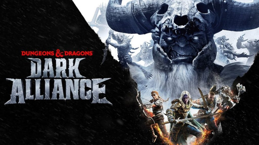 Portada de Dungeons and Dragons Dark Alliance