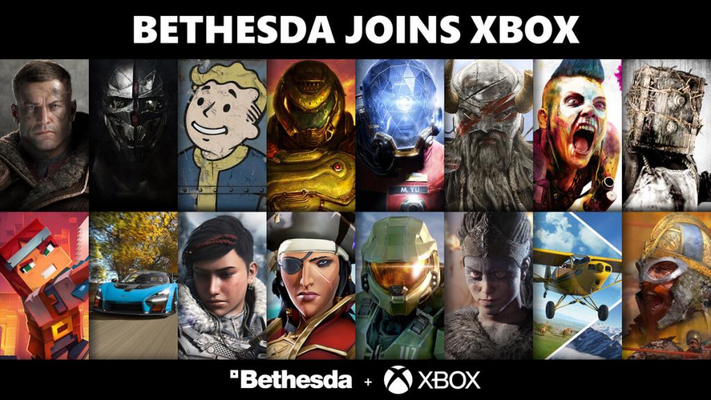 Microsoft y Bethesda