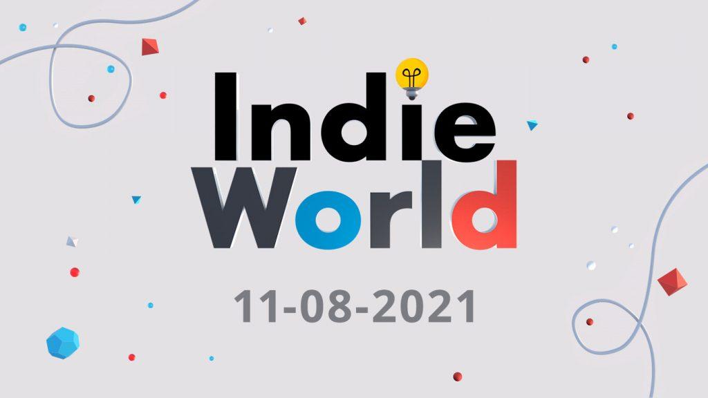 Cartel del Indie World de Nintendo