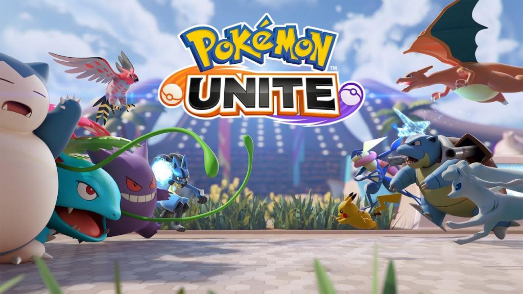 Pokémon Unite portada