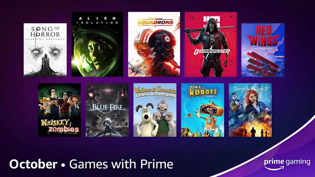 todos los juegos gratis que accederemos con prime